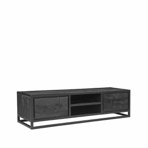 LABEL51 Tv-meubel Chili - Zwart - MangohoutLABEL51